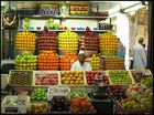 Ein Markt in Bombay