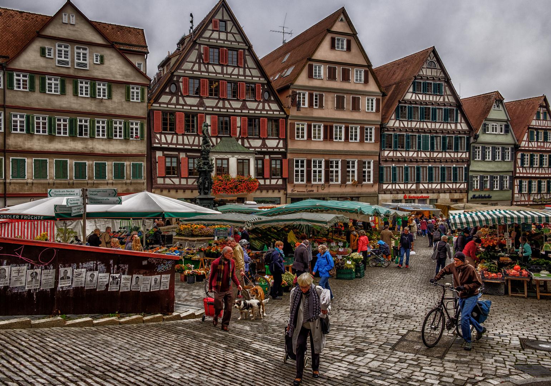 Ein Markttag