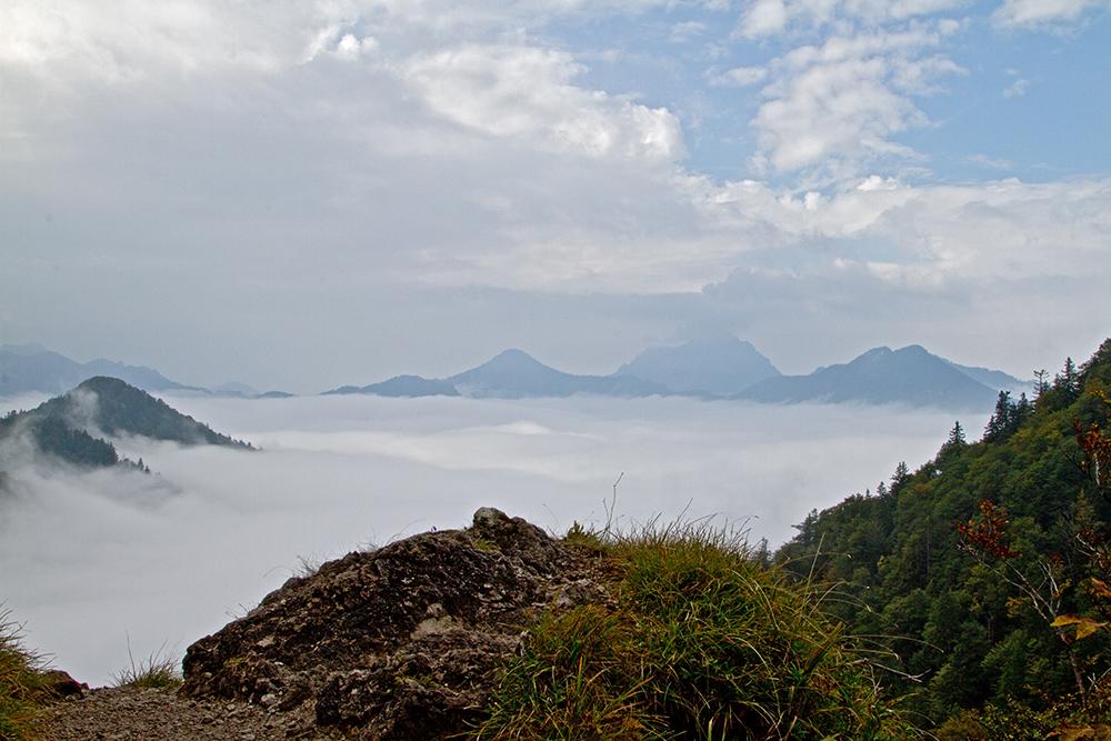 ein Meer.... aus Nebel