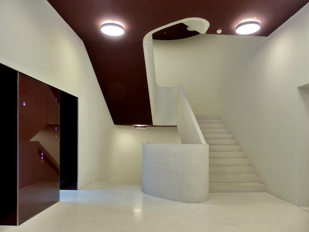Ein Modernes Treppenhaus Foto Bild Architektur Treppen Und