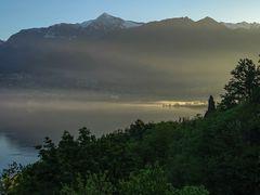 Ein Morgen am Lago Maggiore
