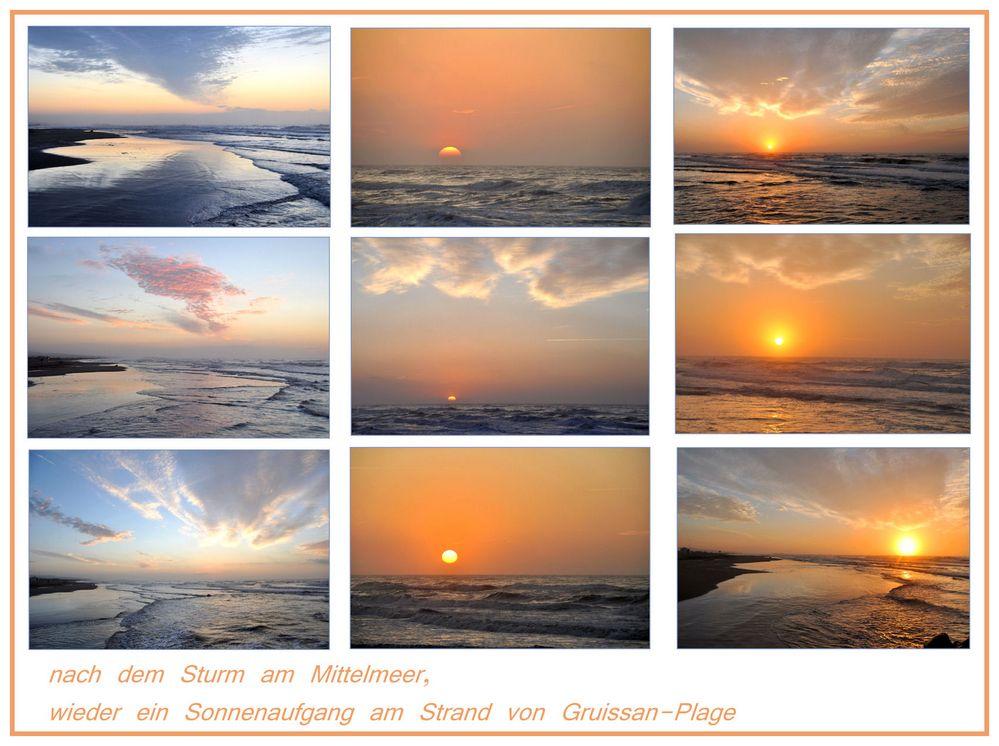 ein  Morgen am Meer -2-