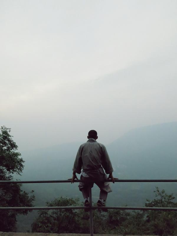 Ein Morgen am Songshan