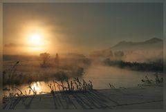 -- Ein Morgen an der Ach --