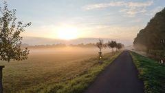 Ein Morgen an der Erft