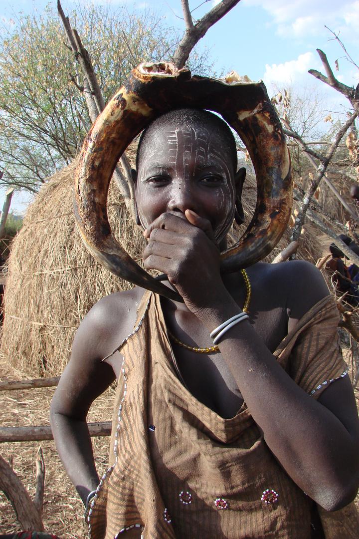 Ein Mursi Frau aus Äthiopien Foto & Bild | erwachsene, die
