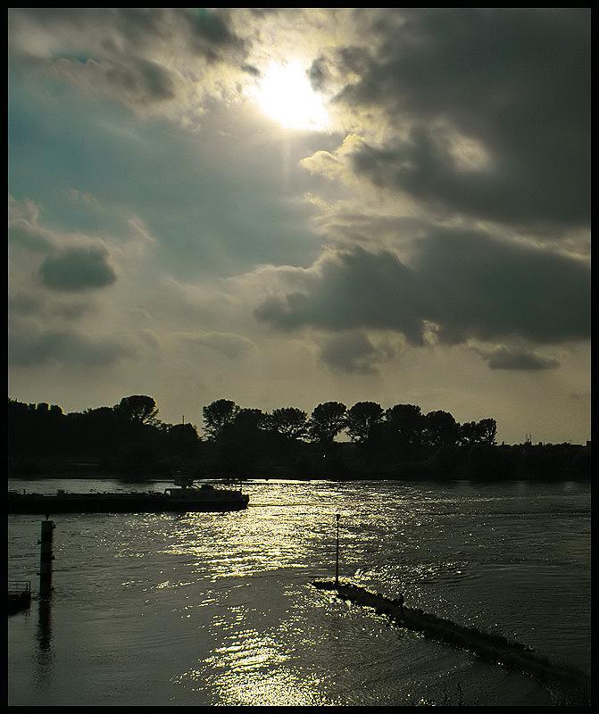 Ein Nachmittag am Rhein