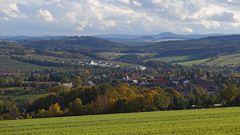 Ein neuer Blick ins Osterzgebirge für mich von einem neu gesuchten Standort...