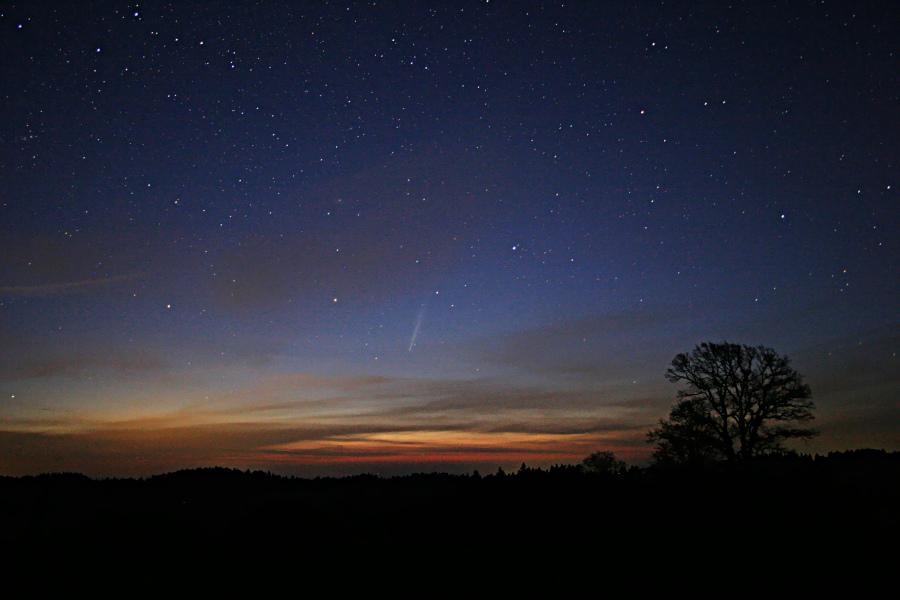 Ein neuer Komet!