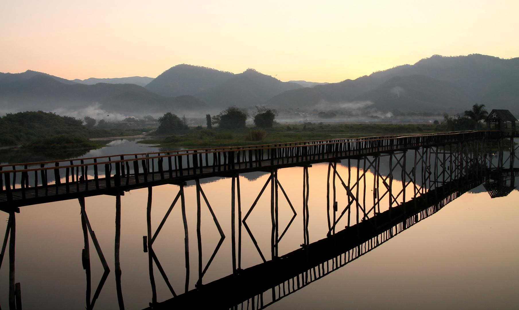 Ein neuer Tag am Inle Lake (Myanmar)