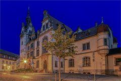 Ein neuer Versuch vom Rathaus in Bernburg