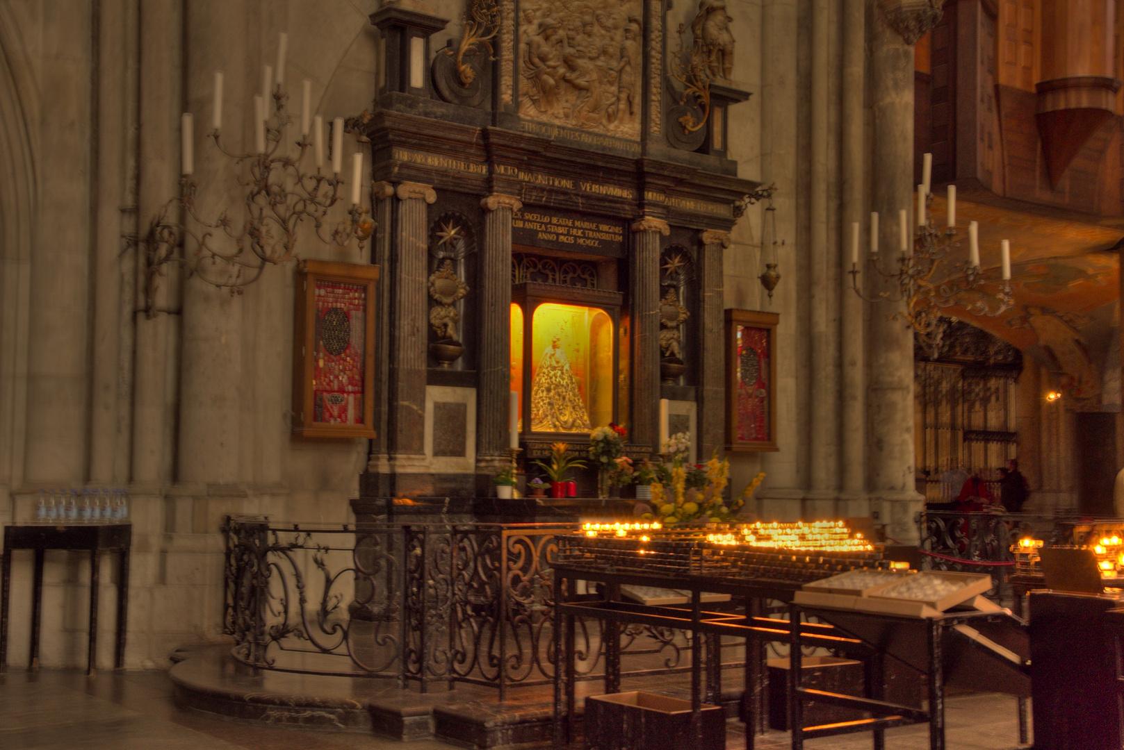 Ein Ort der Besinnlichkeit - der Kölner Dom