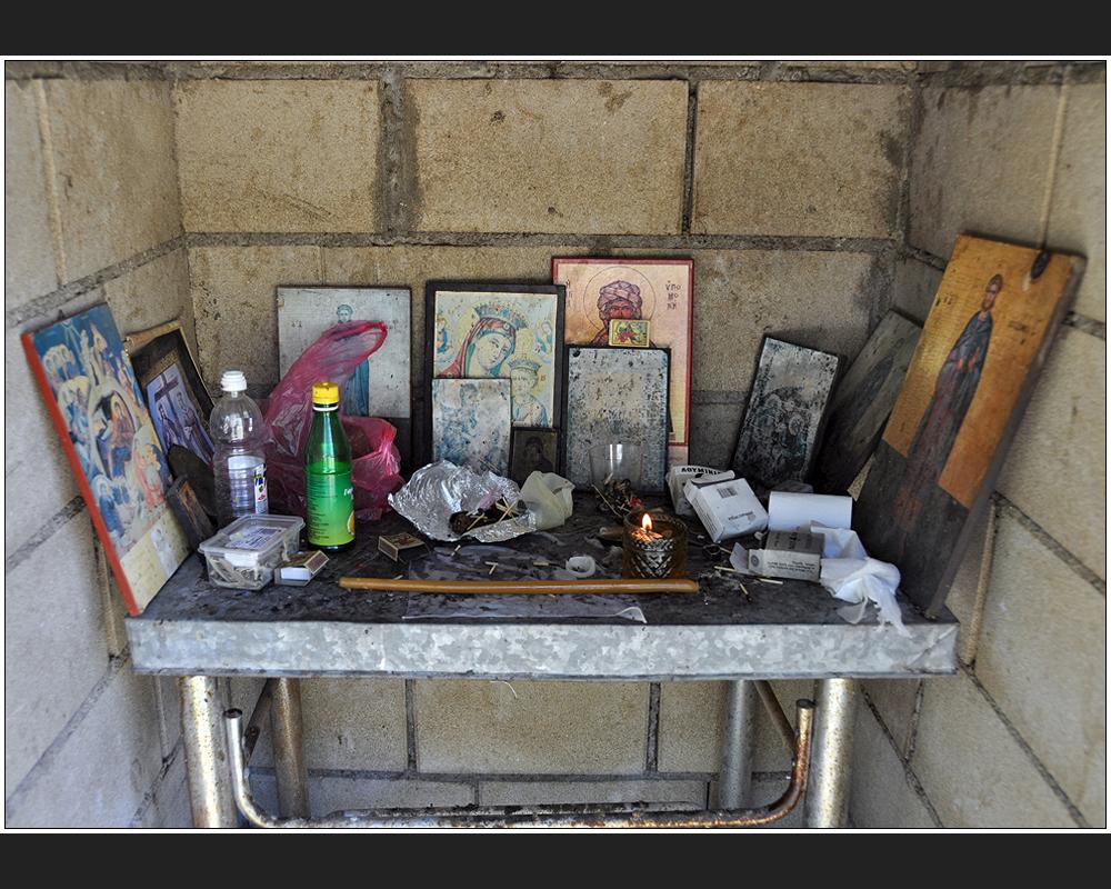 Ein orthodoxes Heiligen-Häuschen