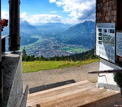 Ein paar Stufen bis Garmisch-Partenkirchen