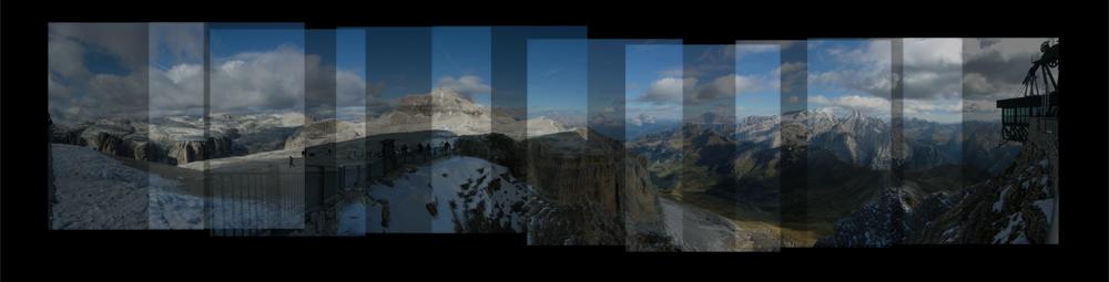 Ein Panorama entsteht ...