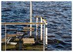 ein Platz am Wasser