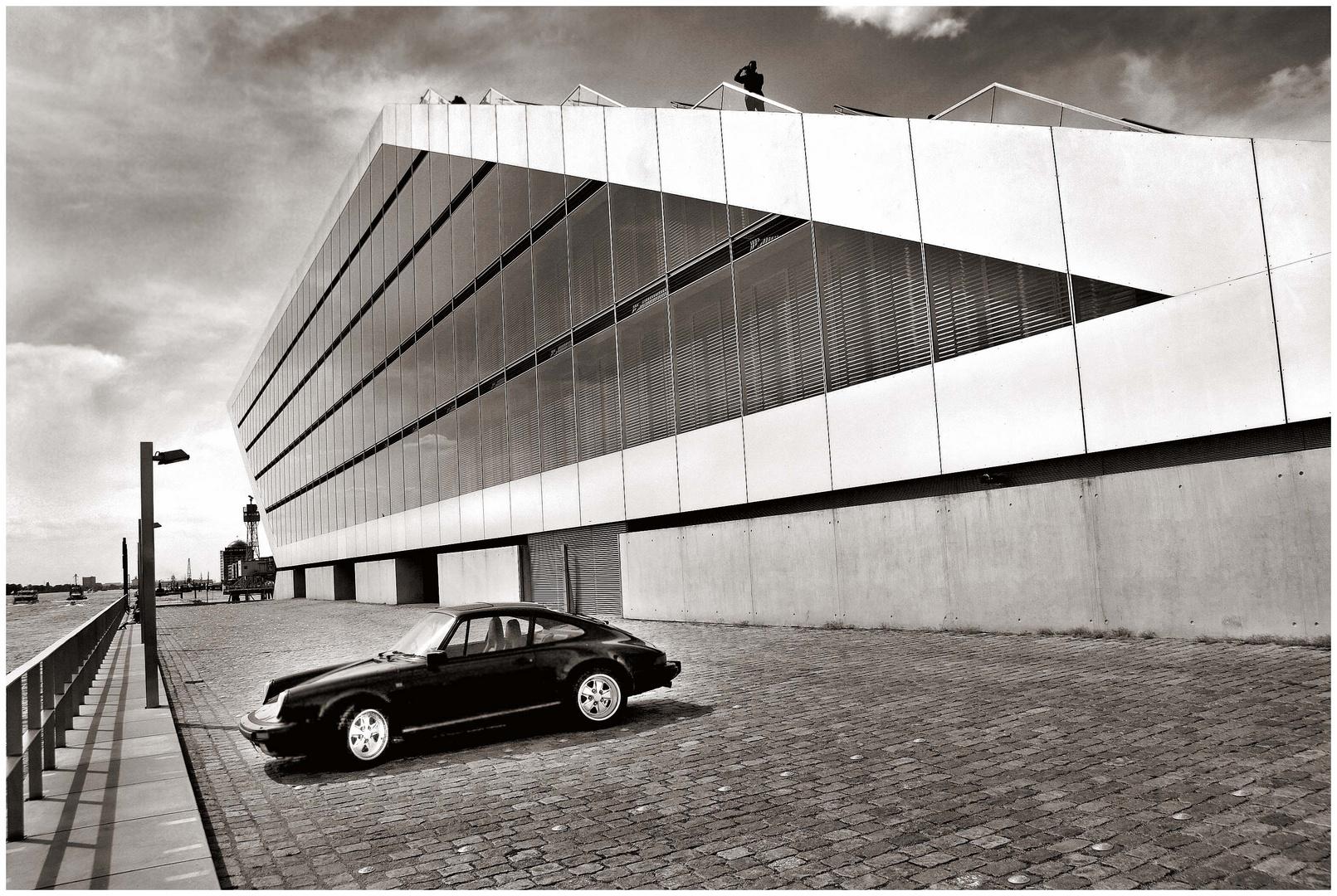 Ein Porsche, ein Fotograf und ich