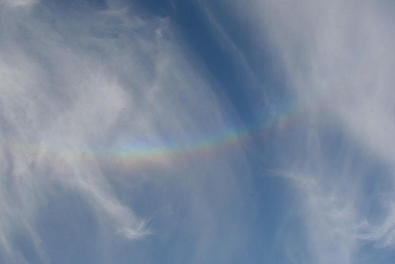 ein Regenbogen ohne Regen...