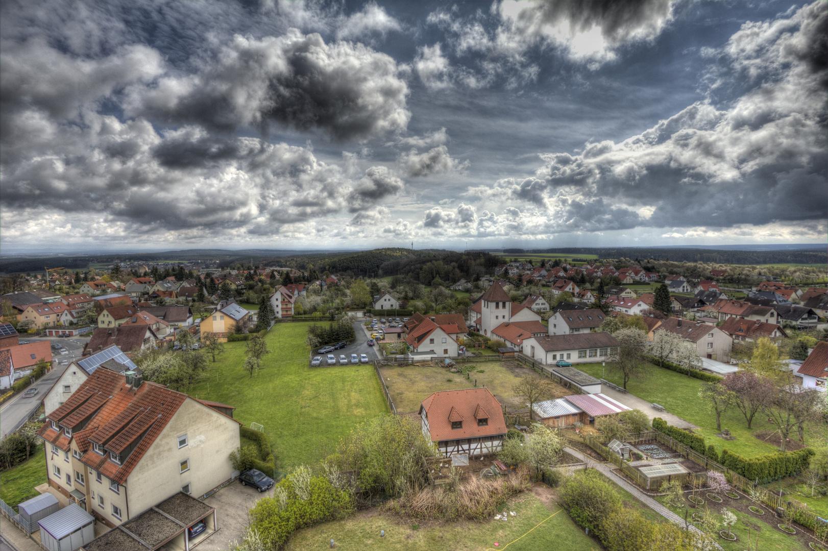 Ein Regnerischer Tag in Cadolzburg