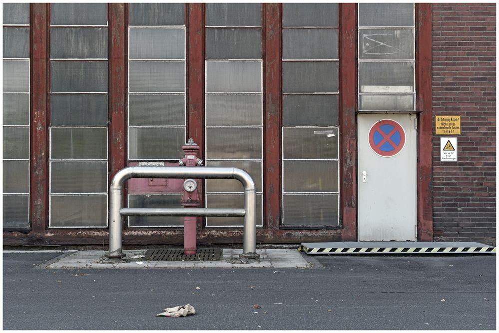 Ein Rest industrieller Stuktur im Ruhrgebiet