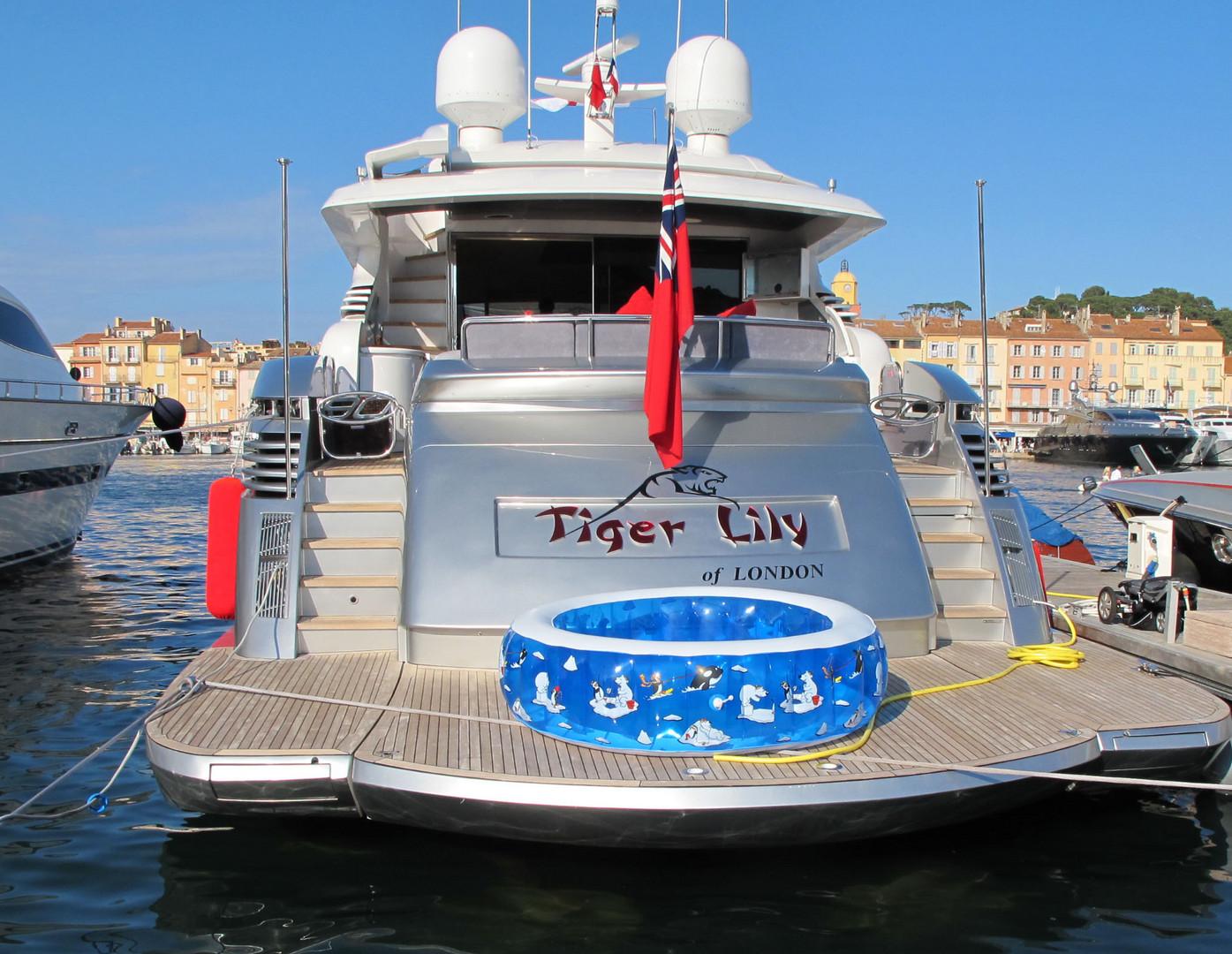 Ein Rettungsboot?