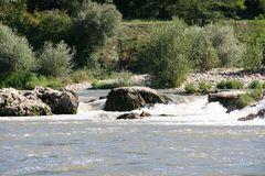 ein richtiger Wildwasserspielplatz
