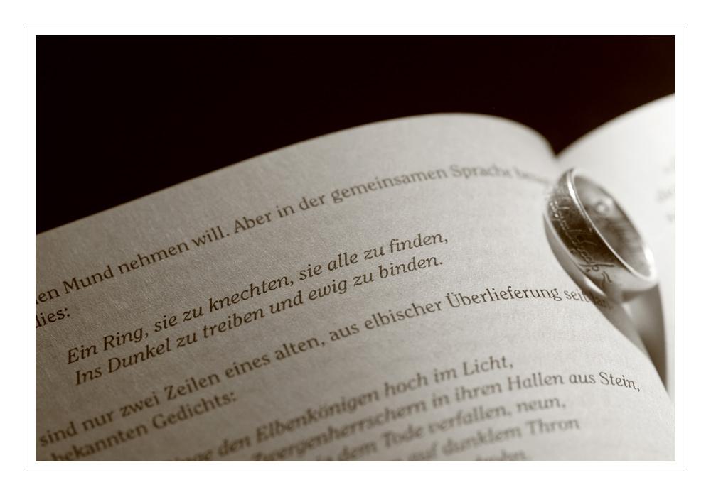 Ein Ring, ...