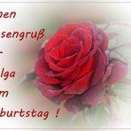 Ein Rosengruß ...