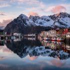 Ein ruhiger Abend in Norwegen