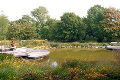 Ein ruhiger Platz am Teich