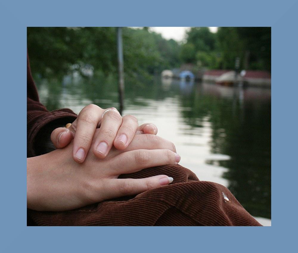 Ein ruhiges Händchen..