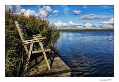 Ein ruhiges Plätzchen am Fjord...
