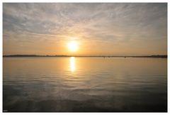 ein Samstagmorgen über dem Strelasund