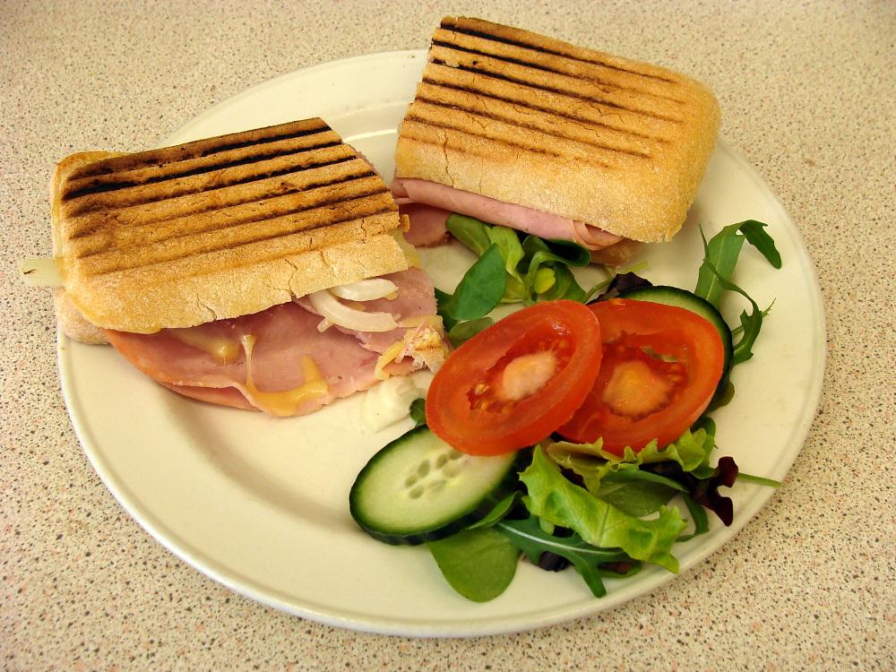 Ein Sandwich in Sandwich