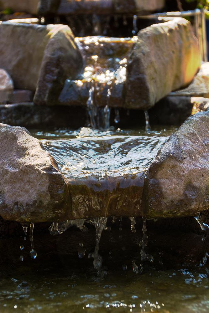 Ein schicker Wasserlauf