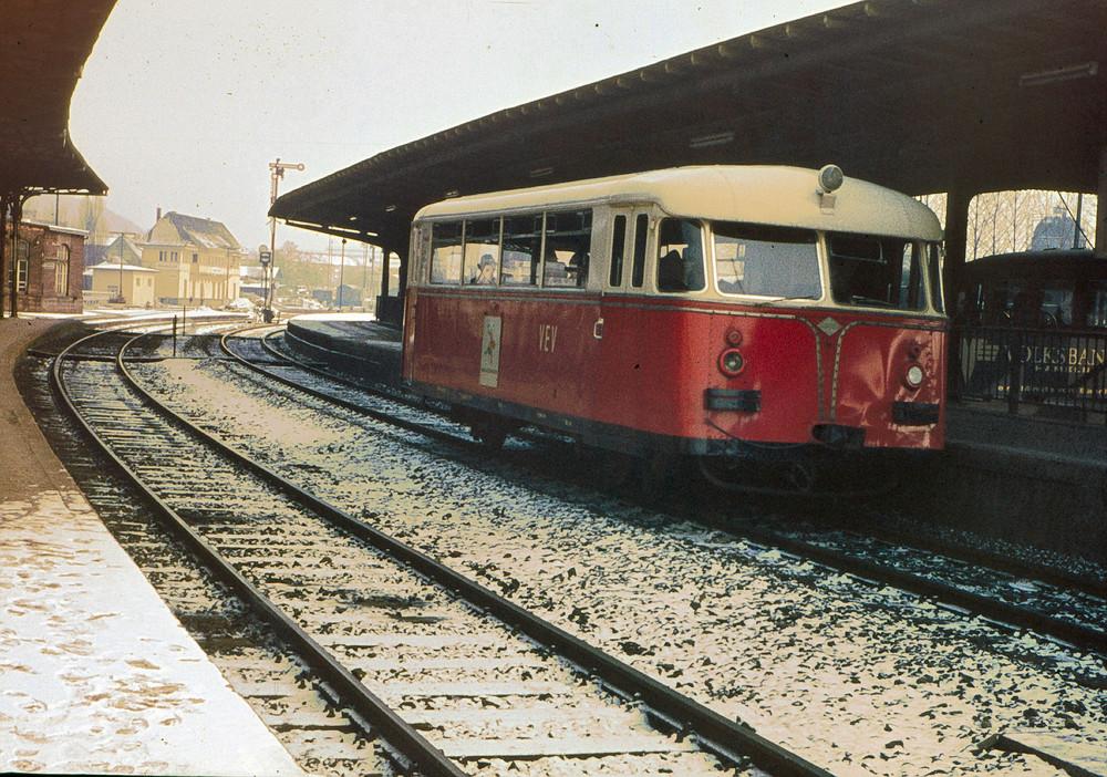 Ein Schienenbus Veteran