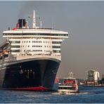 Ein Schiff wird kommen... Queen Mary 2