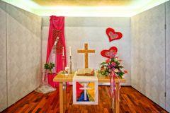 Ein schlichter Altar