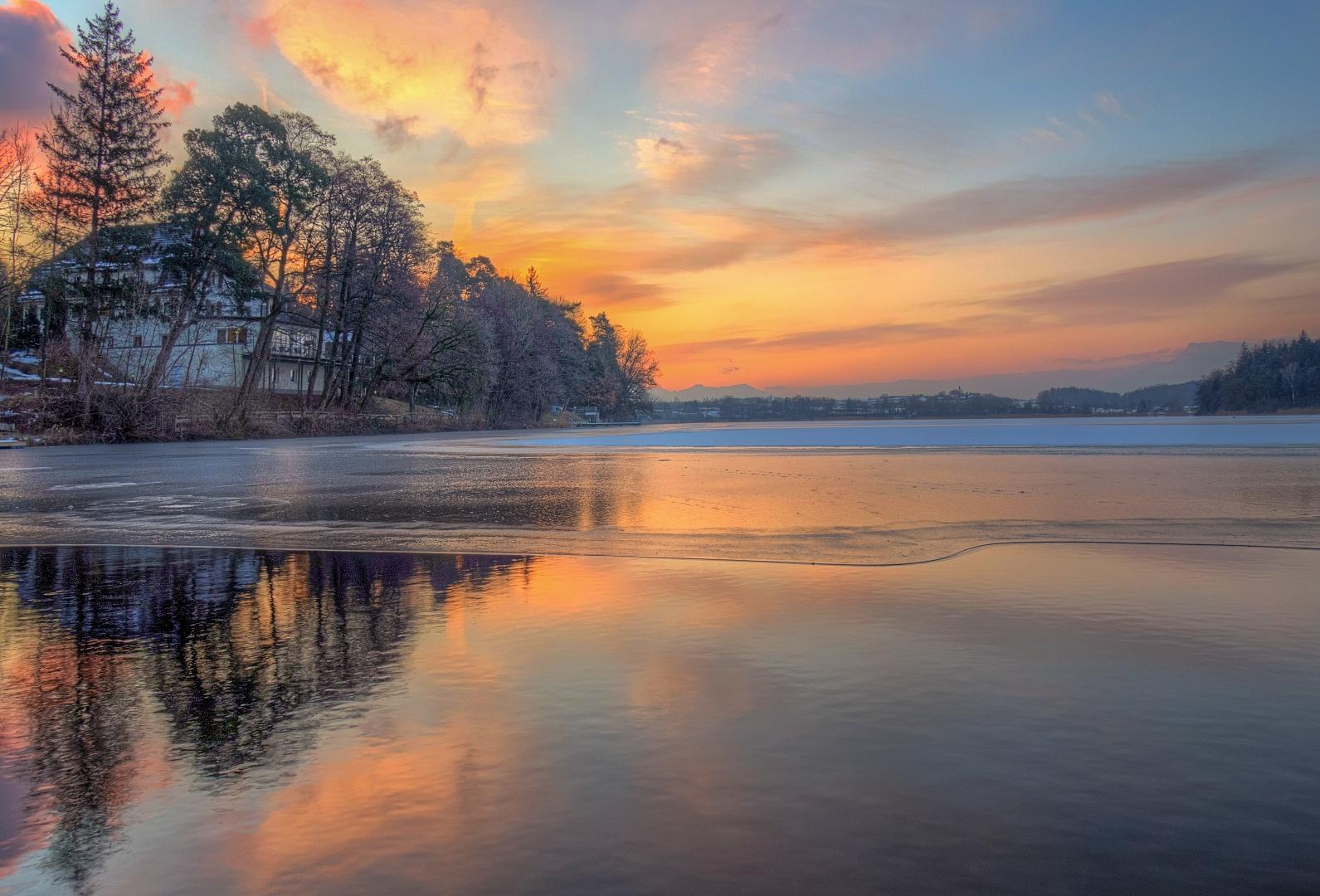 Ein schöner aber auch kalter Morgen