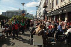 Ein schöner Sommertag in Reykjavík