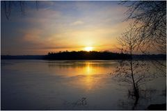 Ein schöner Sonnenaufgang