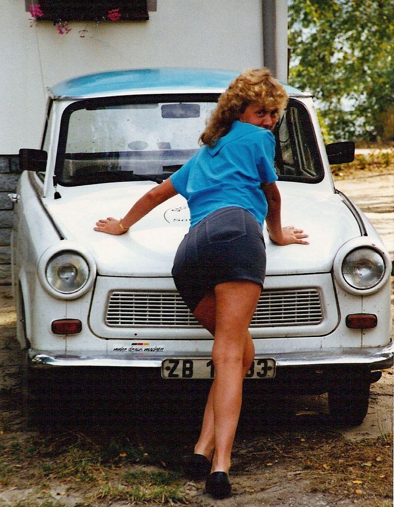 Ein schönes Fahrgestell hat mein Trabant - Und meine Frau
