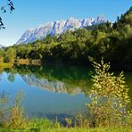 Ein schönes Plätzchen - See am Freizeitgelände von Bischofshofen