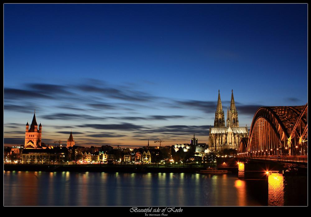Ein schönes Wochenende geht vorbei - Köln und sein Dom