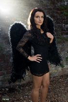 Ein schwarzer Engel