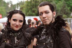 ein schwarzes Paar