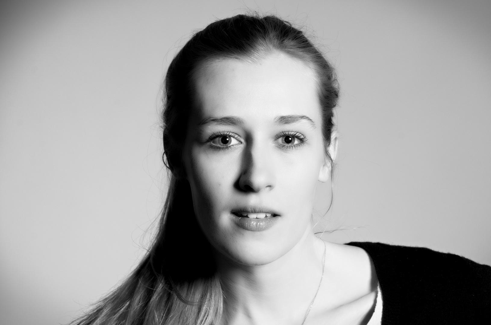 Ein Schwarzweiß-Portrait erzählt Geschichten!