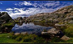 ein see am meer