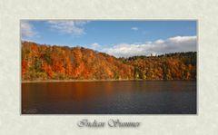 Ein See in Kanada...