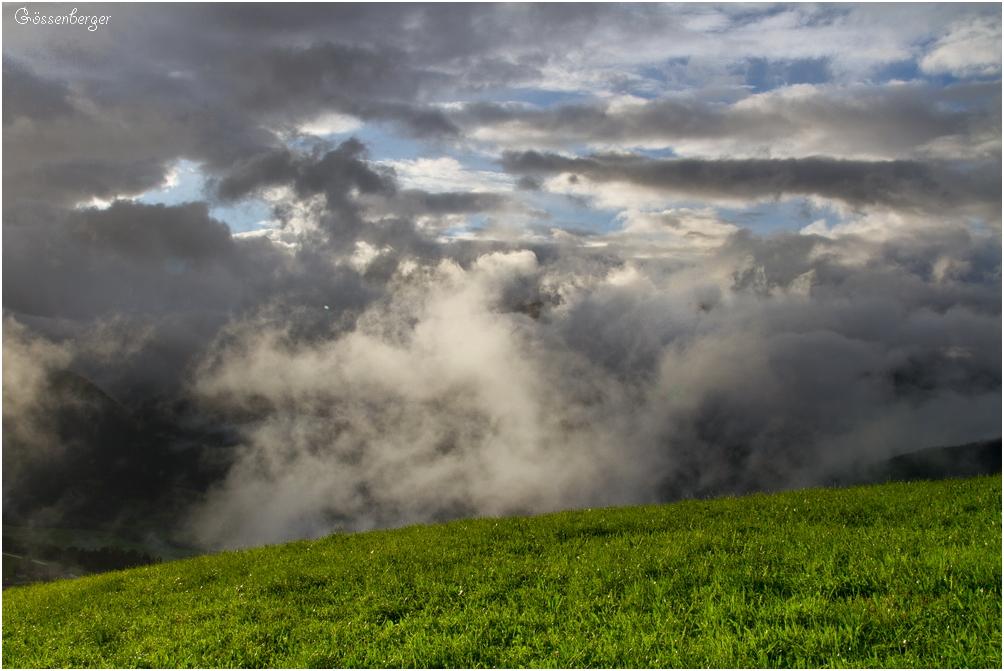 Ein Sommer ( Wolken ) in den Bergen 107